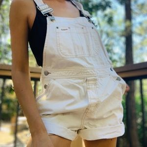 90s Gap Ivory Overall